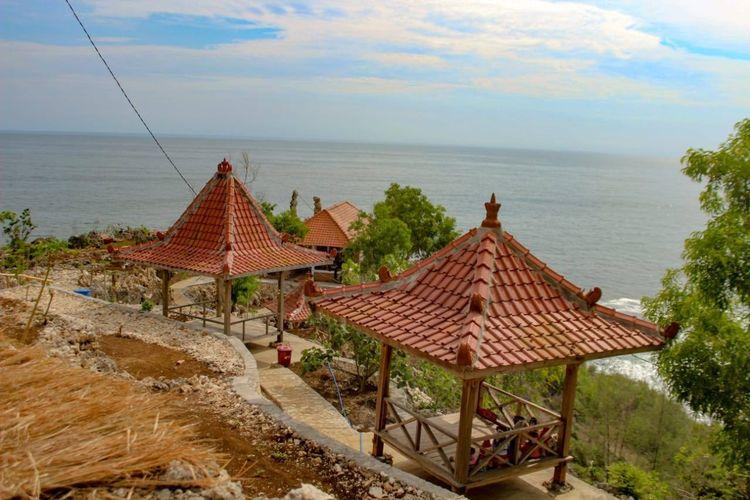 Tempat wisata bernama Taman Watu Coffee and Resto di Kabupaten Gunungkidul, Yogyakarta (dok. Facebook Taman Watu).