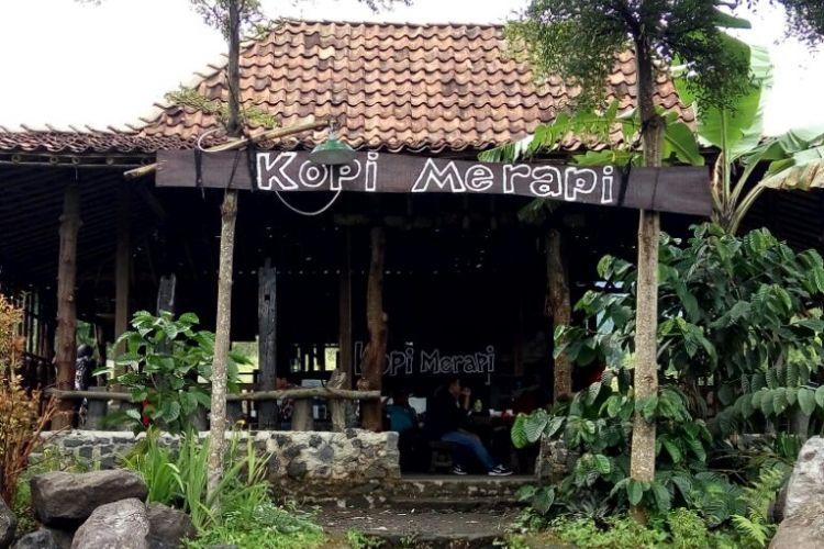Warung Kopi Merapi di Dusun Petung