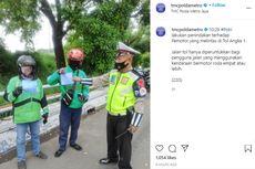 Viral 2 Pengemudi Ojek Online Masuk Tol Angke 1, Polisi: Ngakunya Tersasar, Sudah Ditilang