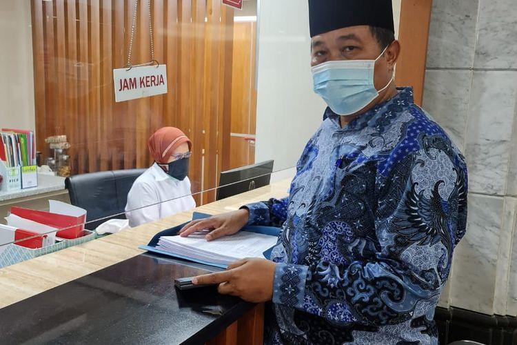 Koordinator MAKI Boyamin Saiman mendaftarkan uji materil UU KPK (Sumber: Koordinator MAKI Boyamin Saiman)