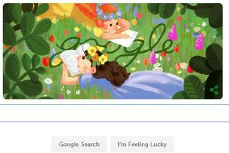 Senin (30/11/2015), Google Doodle untuk memperingati hari ulang tahun novelis asal Kanada, Lucy Maud Montgomery