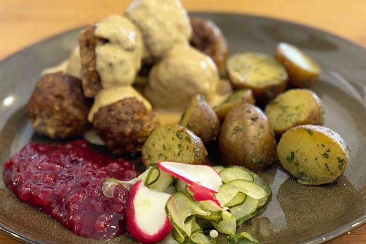Swedish Meatball di Fika Swedish Cafe _ Bistro