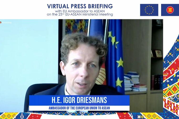 Duta Besar UE untuk ASEAN H.E. Igor Driesmans