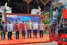 Bali Uji Coba Shuttle Bus Listrik ke Tempat Wisata