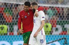 Reuni di Euro 2020, Benzema Ungkap Isi Obrolannya dengan Ronaldo
