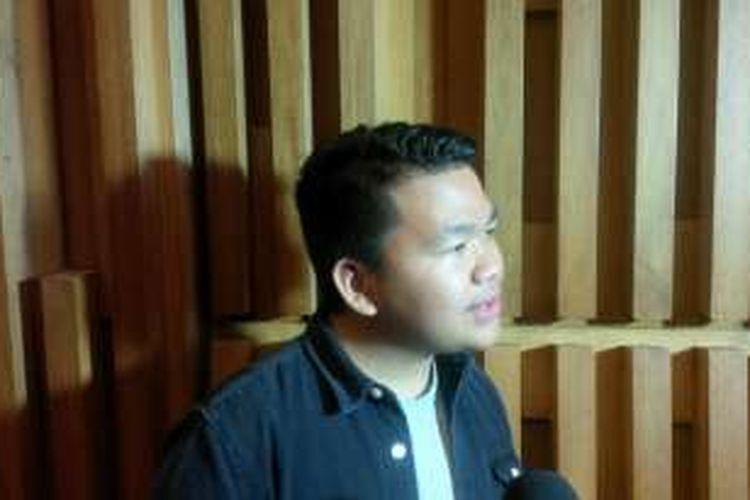 Kiki CJR saat dijumpai di Gedung SCTV, Jalan Asia Afrika, Senayan, Jakarta Pusat, Kamis (11/8/2016).
