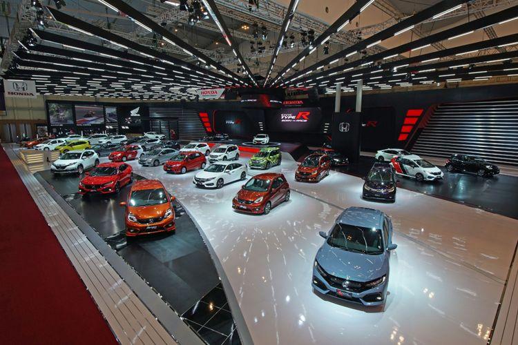 Booth Honda di GIIAS 2017.