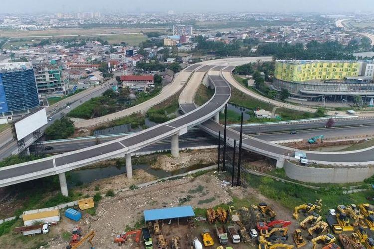 Progres konstruksi Tol Cengkareng-Batuceper-Kunciran hingga saat ini telah mencapai 86,46 persen