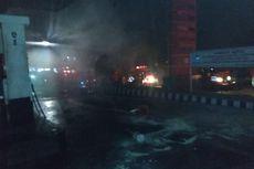 SPBU Terbakar di Bukittinggi, Api Diduga dari Mobil yang Isi BBM dengan Tangki Tambahan