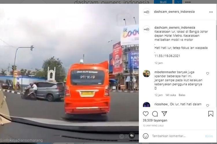 Kecelakaan sering terjadi di persimpangan jalan