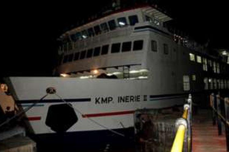 KMP Inerie II melayari Aimere di Pulau Flores menuju Waingapu di Pulau Sumba, Nusa Tenggara Timur (NTT) sekali dalam semingu pada setiap hari Jumat. Biasanya berangkat dari Aimere  pukul 10.00 dan akan tiba di Waingapu, Sabtu sekitar pukul 07.00 Wita.