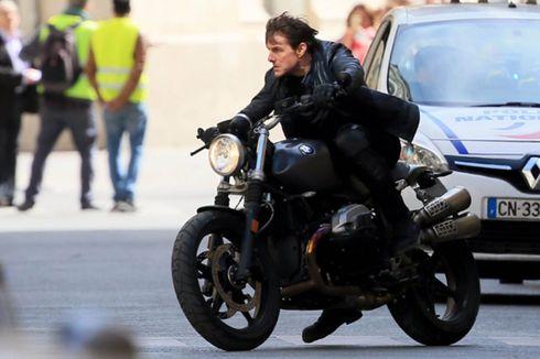 Kecelakaan Motor di Lokasi Syuting, Produksi Mission Impossible 7 Dihentikan Sementara