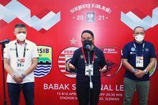 Pastikan Penerapan Protokol Kesehatan, Menpora Amali Tonton Pertandingan Semifinal PS Sleman Lawan Persib