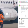 Viral, Video Wanita Berjalan di Atas Sayap Pesawat, Apa Alasannya?