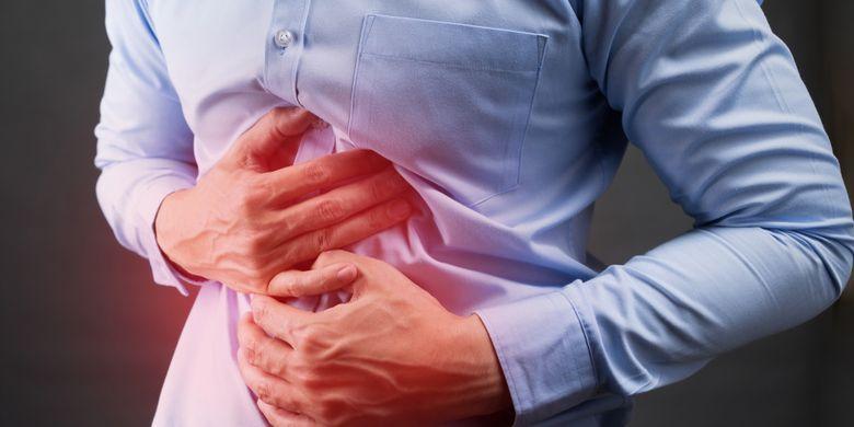 Ilustrasi sakit perut