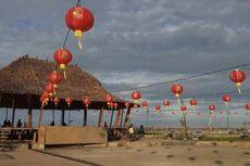 Kali Pertama, 500-an Lampion Hiasi Kota Gunungsitoli