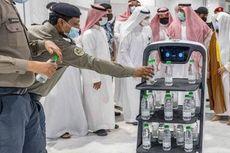 Begini Wujud Robot Pembawa Air Zamzam, biar Jemaah Haji Tak Berdesakan