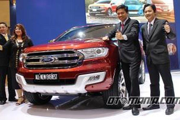 Peluncuran Ford Everest di pameran nasional