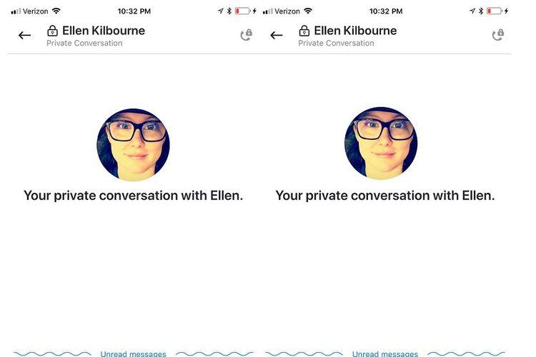 Fitur Private Conversation di Skype