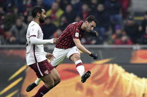 Skuad Resmi AC Milan Vs Torino, Hakan Calhanoglu Absen