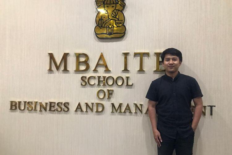 Alumnus MBA Institut Teknologi Bandung (ITB), Meydan Gusnisar (30 tahun) memenangkan Social Enterprise Bootcamp 2020 di Singapura.