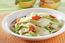 Resep Oseng Sawi Putih, Menu Makan Siang Simpel