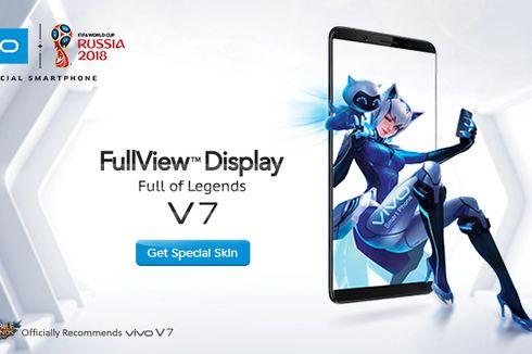 Vivo V7 Beri Sensasi Main Game Mobile Legends Tanpa Gangguan