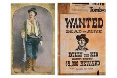 Hari Ini 160 Tahun Lalu, Kelahiran Billy The Kid, Bandit Koboi Asal Amerika Serikat...