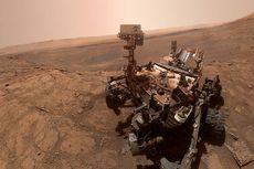 Robot Curiosity Selfie di Mars setelah Lakukan Misi Langka
