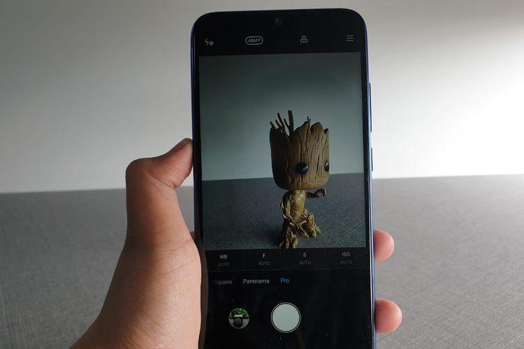 Dengan mode Pro, pengguna bsia memaksimalkan resolusi kamera hingga 48 megapiksel. Secara default, resolusi yang tersetel adalah 12 megapiksel