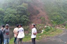 Jalan Provinsi di Perbatasan Banten-Jabar Tertimbun Longsor, Warga Terisolasi