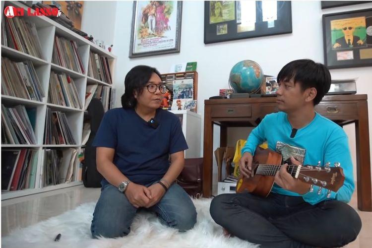 Penyanyi Ari Lasso dan Rian DMASIV