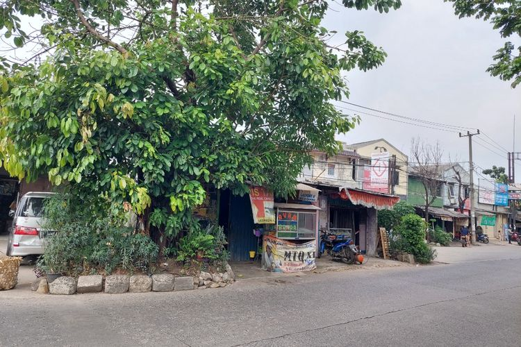 Lokasi rumah Anwar Hidayat. Kediamannya menjorok ke Jalan Maulana Hasanudin, Poris Gaga, Batuceper, Kota Tangerang.