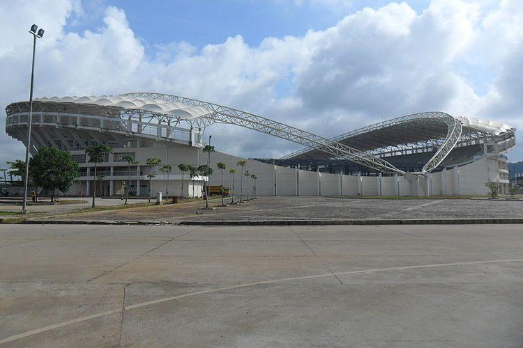 Stadion Aji Imbut, Tenggarong, Kutai Kartanegara.