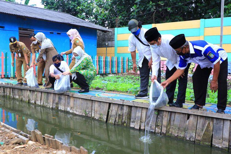 Kampung Sehat di Kelurahan Sukajadi Kecamatan Karawaci Kota Tangerang