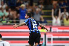 Inter Vs Udinese, Menang Tipis, Nerazzurri Pimpin Klasemen Liga Italia