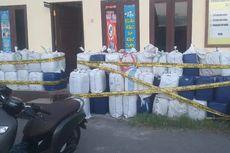 Polisi Sita 3.000 Liter Minuman Keras Lokal yang Dibawa dari Flores ke Kupang