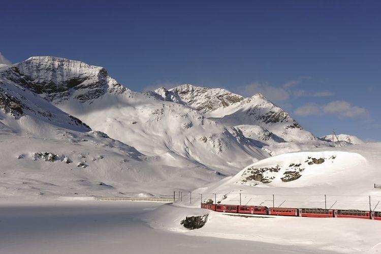 Panorama alam Swiss