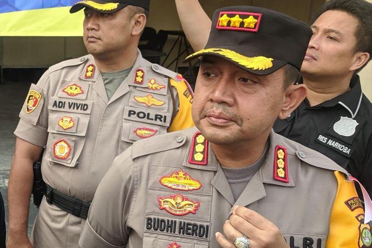 Kapolres Metro Jakarta Utara Kombes Budhi Herdi Susianto di Mapolres Metro Jakarta Utara