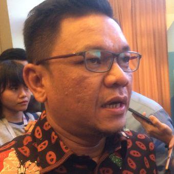 Ketua DPP Partai Golkar Ace Hasan Syadzily bilangan Menteng, Jakarta Pusat, Sabtu (7/7/2018).