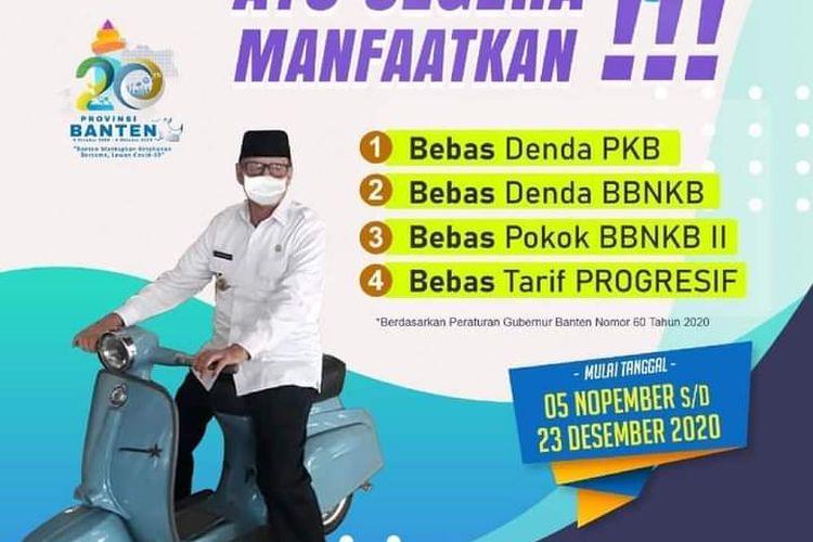 Relaksasi pajak kendaraan bermotor di Banten