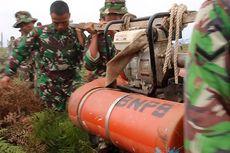 Api yang Membakar Hutan Aceh Barat Dipadamkan Secara Manual