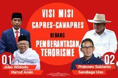 INFOGRAFIK: Visi Misi Capres-Cawapres dalam Pemberantasan Terorisme