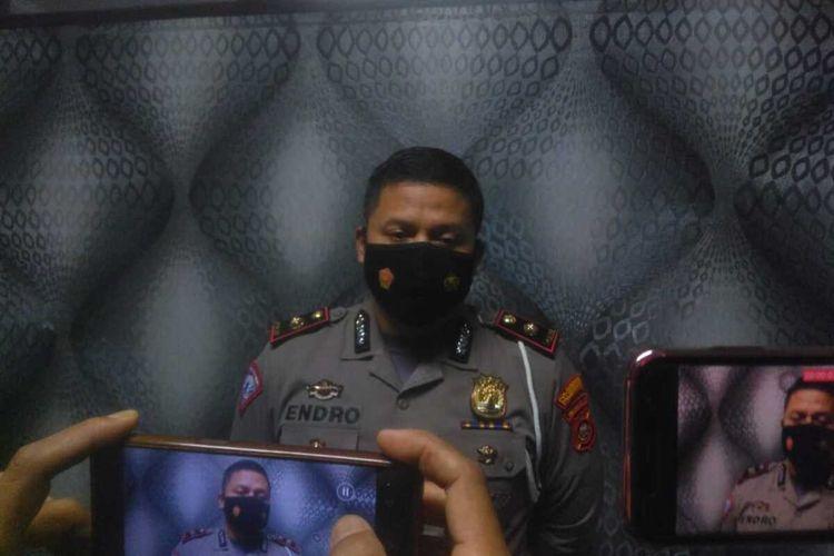 Kepala Satuan Polisi Lalulintas (Kasat Lantas ) Polrestabes Palembang Kompol Endro Ariwibowo.