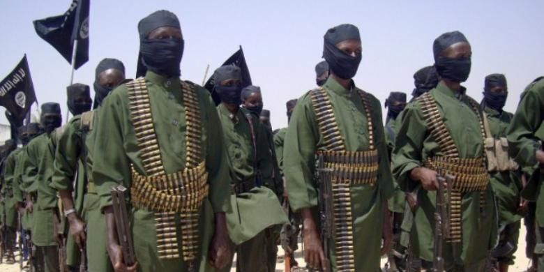 Pasukan kelompok militan Somalia, Al-Shabaab.