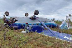 Cerita Momen Dramatis Kecelakaan Pesawat Rusia yang Mendarat Darurat Tanpa Korban