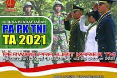 TNI Buka Rekrutmen Perwira Prajurit Karier bagi Lulusan D4-S1