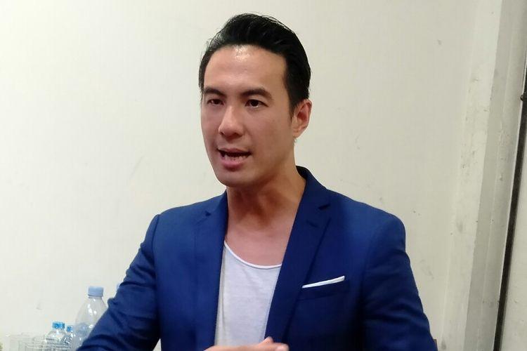 Daniel Mananta usai menjadi pembicara di sebuah acara di kawasan Blok M, Jakarta, Rabu (4/12/2019)