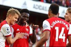 Hasil Arsenal Vs Tottenham, The Gunners Menangi Derbi London Utara
