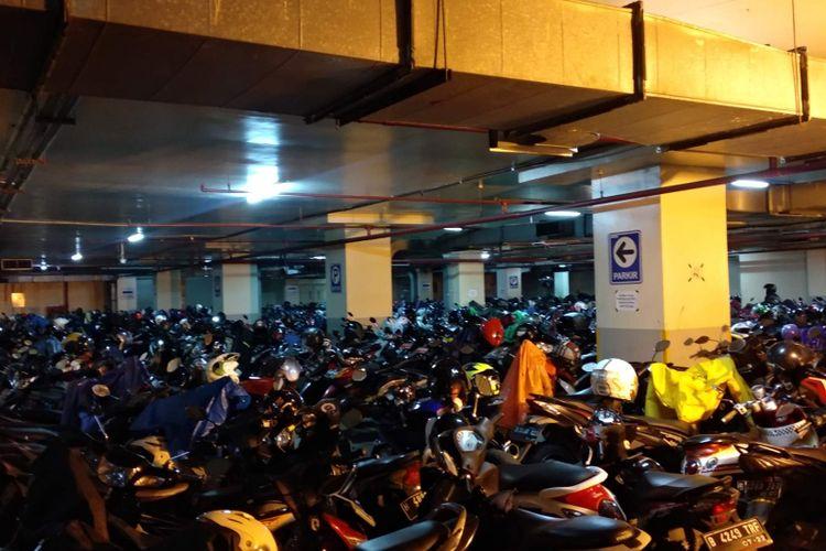 Ilustrasi parkiran